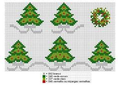 graficos de vagonite com motivos natalinos - Pesquisa Google
