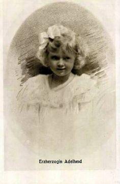 Erzherzogin Adelheid von Österreich, Archduchess of Austria 1914 – 1970   Flickr - Photo Sharing!