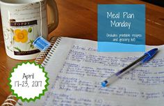 Darcie's Dishes: Meal Plan Monday: 4/17-4/23/17 ~ A one week meal plan that is 100% Trim Healthy Mama compliant. All meals, snacks and drinks are planned out for you in this printable meal plan. A companion printable shopping list is available too.