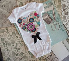 Olivia Paige  Little Sweetheart  bodysuit  by OliviaPaigeClothing, $12.00
