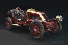 1907 Renault Vanderbilt Cup racing car ▓█▓▒░▒▓█▓▒░▒▓█▓▒░▒▓█▓ Gᴀʙʏ﹣Fᴇ́ᴇʀɪᴇ ﹕ Bɪᴊᴏᴜx ᴀ̀ ᴛʜᴇ̀ᴍᴇs ☞  http://www.alittlemarket.com/boutique/gaby_feerie-132444.html ▓█▓▒░▒▓█▓▒░▒▓█▓▒░▒▓█▓
