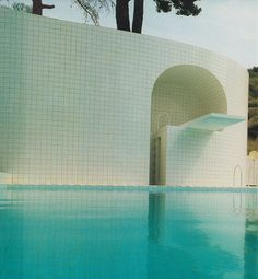 Swimming pool by Alain Capeilleres, 1986