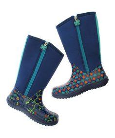 Blue Seed Stomp Boot #zulily #zulilyfinds