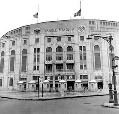Old Yankee Stadium 1923-2008 - South Bronx in New York City, NY (hollowed baseball ground where so many of the true greats played)