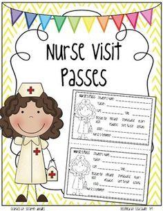 nurse pass template