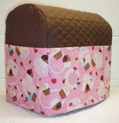 Check out this item in my Etsy shop https://www.etsy.com/listing/205557346/chocolate-brown-quilted-cupcake-cover