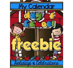 MY CALENDAR: First Day of School {Freebie for K-1}