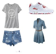"""A Natural Style"" by chaeyounglee on Polyvore featuring Old Navy, NIKE, LE3NO and natural"