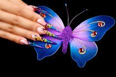 Anul acesta ne-am propus sa te ajutam sa iti ''desfaci aripile'' frumos catre o cariera de succes in domeniul unghiilor false! Ramai alaturi de noi pe tot parcursul lui 2015, ti-am pregatit o multime de surprize! Different Kinds, Nail Arts, Insects, Nails, Cots, Ongles, Finger Nails, Nail Art, Art Nails