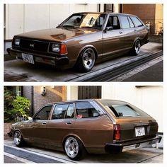 Double brown wagon