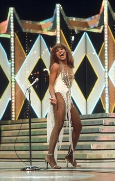 Tina Turner. Yes, I went old school with photo choice. No, Ike does not get to be in my pin.