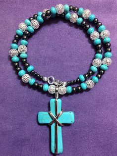 Faith in Blue by MystycJewels on Etsy