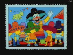 Kamp Krusty Trip To Mexcio Homer Simpson, Lisa Simpson, Goat Cartoon, Krusty The Clown, Simpsons Art, Batman, Futurama, Cool Cartoons, Best Tv Shows