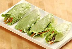 Kai-lan's Lettuce Wraps  This nutritious meal couldn't be simpler. Stir-fry a heap of healthy vegetables and then let your kids help you roll them up in lettuce leaves.