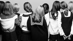 TWICE K-Pop Girls Black and White Wallpaper