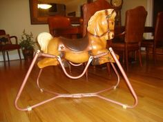 Wonder Horse Deluxe circa 1950's. My brother would ride this for the longest time!