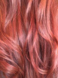 #evergreenbeautycollege #creativity #red #joico #joicocolor #layers #longlayers