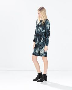 ZARA - COLLECTION SS15 - DRESS WITH A BACK ZIP