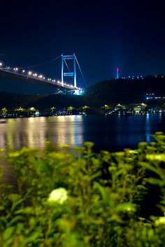 Fatih Sultan Mehmet Bridge - Istanbul, Turkey by lolita Istanbul City, Dream City, Turkey Travel, Most Beautiful Cities, Best Cities, Historical Sites, National Parks, Beautiful Pictures, Landscape