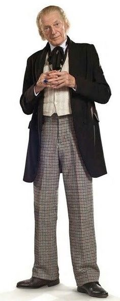 David Bradley as The First Doctor.