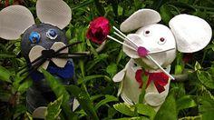 Pomysły plastyczne dla każdego, DiY - Joanna Wajdenfeld: Jak zrobić doniczkowe myszki