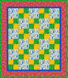 focus fabric, simple pattern