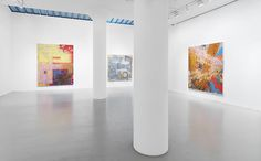 Keltie Ferris painting exhibition on view in Chelsea at Mitchell-Innes & Nash through January 12, 2013.