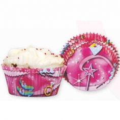 Muffin Papierförmchen Motiv Prinzessin