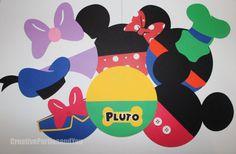 Invitaciones fiesta de cumpleaños de Mickey por CreativePartiesandU