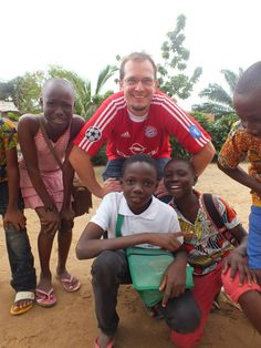 Volunteering in #Togo.