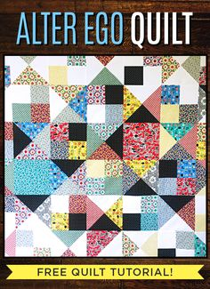 15 Flying Geese Quilts for Inspiration - Simple Simon and Company Quilt Square Patterns, Scrap Quilt Patterns, Charm Square Quilt, Layer Cake Quilts, Flying Geese Quilt, Fat Quarter Quilt, Flower Quilts, Saving Your Marriage, Missouri Star Quilt