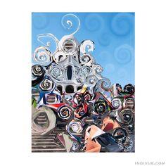 Art Articles, Paris France, Parisian, Travelling, Sketches, Colours, Fantasy, Inspired, Artist