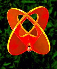 LISA frank boule de jardin en 2 parties à 17 cm orange 75…
