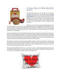 4 unique ideas for bhai dooj gifts online