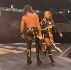 Look at how they look at each other beautiful😍💓 & Wwe Seth Rollins, Seth Freakin Rollins, Wwe Raw Women, Becky Wwe, Wwe Couples, Wwe Pictures, Paige Wwe, Rebecca Quin, Wwe Female Wrestlers