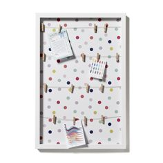 Adairs Kids Wall Art Display Board Confetti - collect those memorably treasures