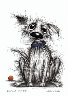 Stinker the dog Horrible looking pooch - Keith Mills: