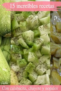 Print Recipe Charlotte three stars Prep minsCook minsTotal mins Course: inputsCuisine: Healthy and gourmet meal idea, Healthy eatingKeyword: Chef's recipe, inputs, It's the season, Vegetables Servings: 4 Calories: leaves of a big Green Continue Reading → Side Recipes, Gourmet Recipes, Mexican Food Recipes, Vegan Recipes, Dinner Recipes, Cooking Recipes, Calabacitas Recipe, Chayote Recipes, Cooking With Toddlers