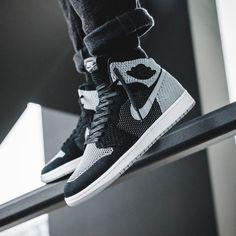 Nike Air Jordan 1 Retro Flyknit -Shadow (919704-003)  USD 155 HKD 1220 New Arrival #solecollector #dailysole #kicksonfire #nicekicks #kicksoftoday #kicks4sales #niketalk #igsneakercommuinty #kickstagram #sneakflies #hyperbeast #complexkicks #complex #jordandepot #jumpman23 #nike #kickscrew #kickscrewcom #shoesgame #nikes #black #flyknit #hk #usa #la #ball #shadow #grey #adidas