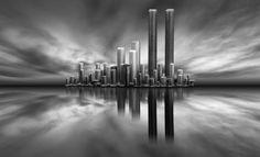 Photographer ANTONIO COELHO  The Twin Towers  ONE EYELAND