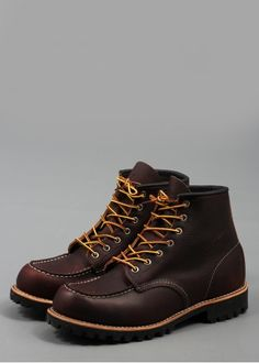 Red Wing Six Inch Boot 8146 Brown. One of my favorite work boots.