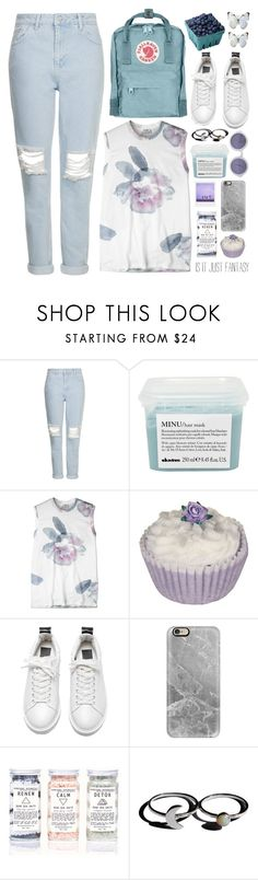 """Untitled #27"" by onewithbirds ❤ liked on Polyvore featuring Topshop, Fjällräven, Davines, Acne Studios, Casetify, Holly Ryan and Chanel"