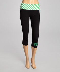 Take a look at this Notre Dame Fighting Irish Capri Leggings - Women by NCAA on #zulily today!