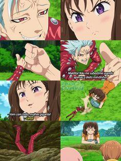 Anime Meme, Otaku Anime, Anime Naruto, Anime Guys, Manga Anime, Seven Deadly Sins Anime, 7 Deadly Sins, 7 Sins, Seven Deady Sins