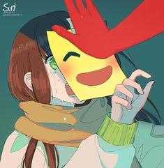 Dark Art Illustrations, Art And Illustration, Sad Anime Girl, Anime Art Girl, Dark Anime, Sun Projects, Arte Grunge, Arte Peculiar, Anime Triste