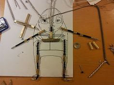 But Milk is Important: Making the armatures