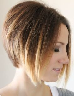 Learn these quick styling tips for a short angled bob.