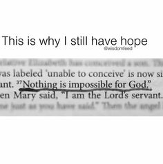 Nothing is impossible for God Bible Verses Quotes, Jesus Quotes, Bible Scriptures, Faith Quotes, True Quotes, Bible 2, Prayer Quotes, Wisdom Quotes, Quotes Quotes