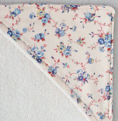 cape de bain doublée en tissu sans biais tuto | Le Purl Bee