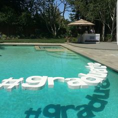 Hey, I found this really awesome Etsy listing at https://www.etsy.com/listing/385569960/floating-pool-letters-wedding-monograms